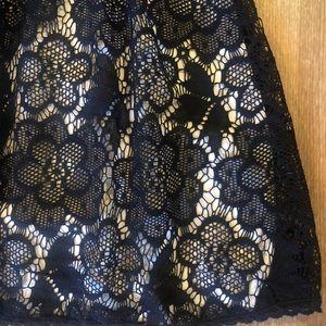 B Darlin Dresses - GORGEOUS Black Lace dress